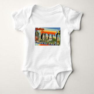 Body Para Bebê Cumprimentos de Alabama
