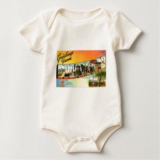 Body Para Bebê Cumprimentos de Delaware