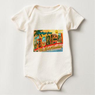 Body Para Bebê Cumprimentos de Florida