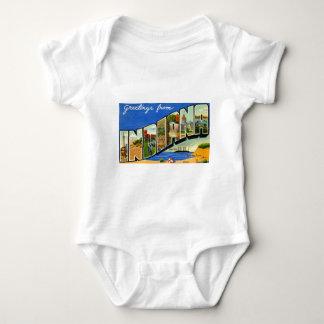 Body Para Bebê Cumprimentos de Indiana