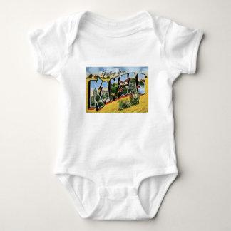 Body Para Bebê Cumprimentos de Kansas