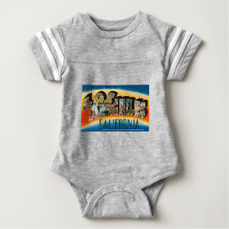 Body Para Bebê Cumprimentos de Los Angeles
