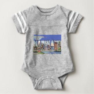 Body Para Bebê Cumprimentos de Maryland