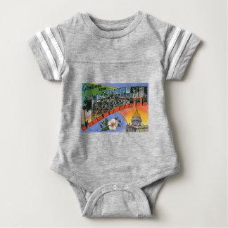 Body Para Bebê Cumprimentos de Mississippi