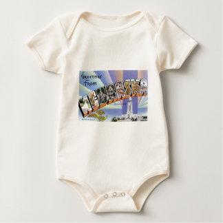 Body Para Bebê Cumprimentos de Nebraska