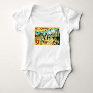 Body Para Bebê Cumprimentos de Nevada