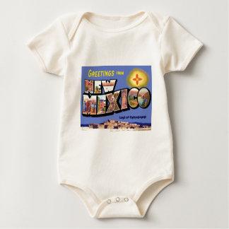 Body Para Bebê Cumprimentos de New mexico