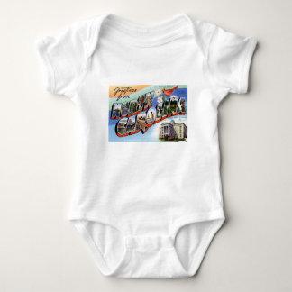 Body Para Bebê Cumprimentos de North Carolina