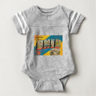 Body Para Bebê Cumprimentos de Ohio