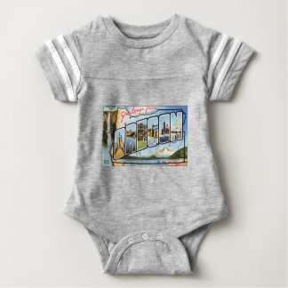 Body Para Bebê Cumprimentos de Oregon
