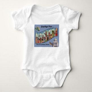 Body Para Bebê Cumprimentos de Pensilvânia