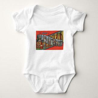 Body Para Bebê Cumprimentos de Washington