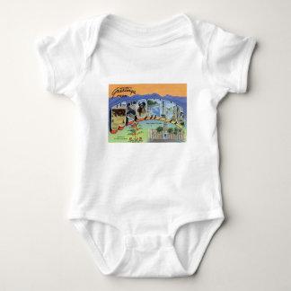 Body Para Bebê Cumprimentos de Wyoming