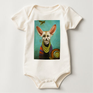 Body Para Bebê Curioso como o Fox de A