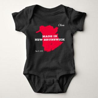 Body Para Bebê Customizável feito no Bodysuit do bebê de Novo