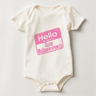 Body Para Bebê Cutie McCrappypants