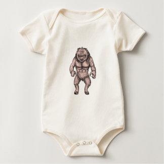 Body Para Bebê Cyclops que estão o tatuagem