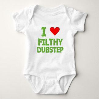 Body Para Bebê Da etapa sujo do dub de Dubstep balanço baixo do