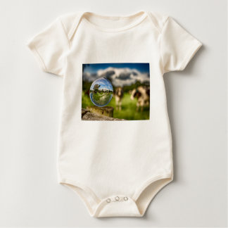 Body Para Bebê Da grama ao vidro