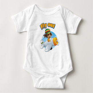 Body Para Bebê Da MOSCA parte superior do bebê PARA FORA