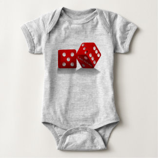Body Para Bebê Dados de Las Vegas