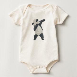 Body Para Bebê Dança de Dabber da panda da solha