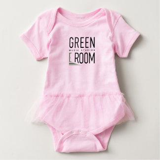 Body Para Bebê Dançarino do futuro da sala do verde do