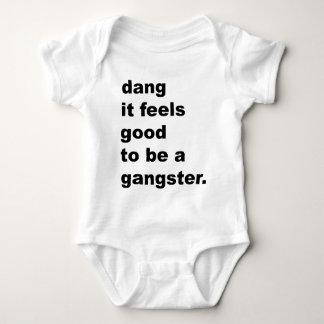 Body Para Bebê Dang que sente bom ser um gângster