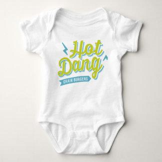 Body Para Bebê Dang quente T para Littles