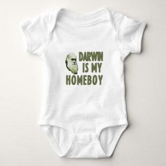 Body Para Bebê Darwin é meu ficar em casa