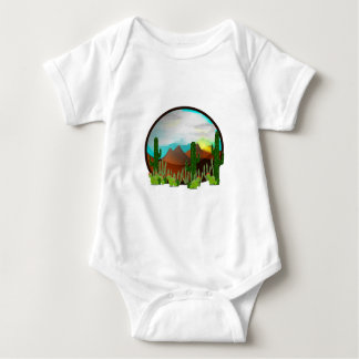 Body Para Bebê Daydreams do deserto
