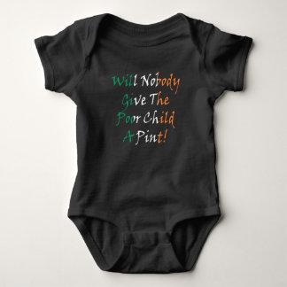 Body Para Bebê Dê à criança pobre um Bodysuit do jérsei do bebê