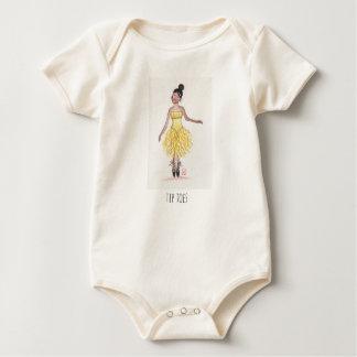 Body Para Bebê Dedos do pé da ponta