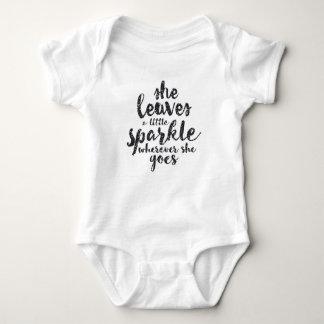 Body Para Bebê Deixa uma faísca pequena onde quer que vai
