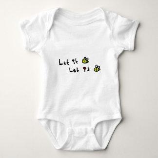 Body Para Bebê Deixado o abelha