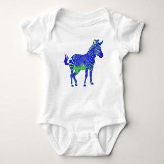 Body Para Bebê Delírio de néon eletrônico T-Shir de Techno da