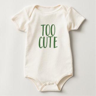 Body Para Bebê Demasiado bonito