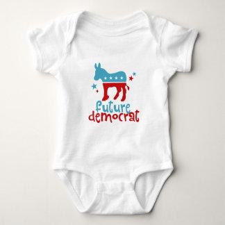 Body Para Bebê Democrata futura