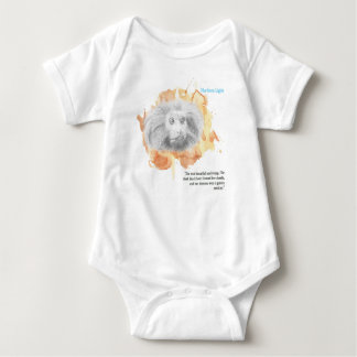 Body Para Bebê Demónio dourado do macaco - seus materiais escuros