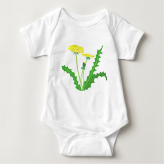 Body Para Bebê dente-de-leão