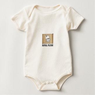 Body Para Bebê descarga do resplendor real
