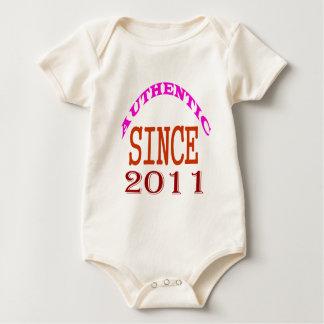 Body Para Bebê Desde 2011 design autêntico do aniversário