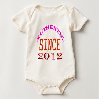 Body Para Bebê Desde 2012 design autêntico do aniversário