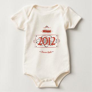 Body Para Bebê Desde 2012 (Red&Black)