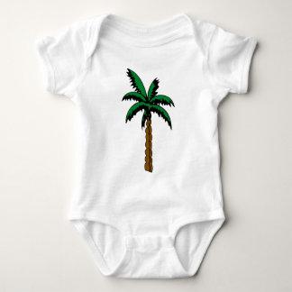Body Para Bebê Desenho da palmeira