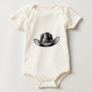 Body Para Bebê Desenho do chapéu de vaqueiro