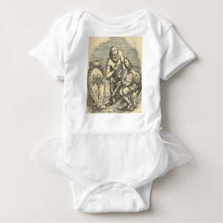 Body Para Bebê Desenho do Hypnotism com espelho