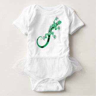 Body Para Bebê Desenho do lagarto verde