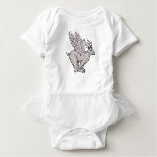 Body Para Bebê Desenho lateral Running de Wolpertinger