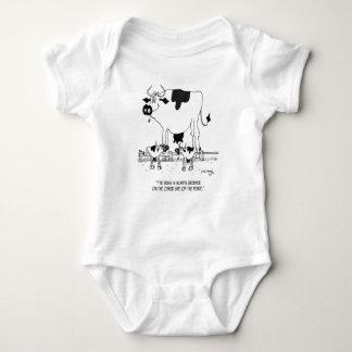 Body Para Bebê Desenhos animados 3372 da vaca